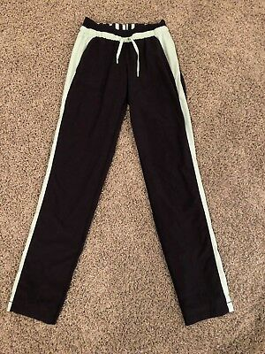 Lululemon Women 4 Athletic Sweats / Sweat Pants Black/mint