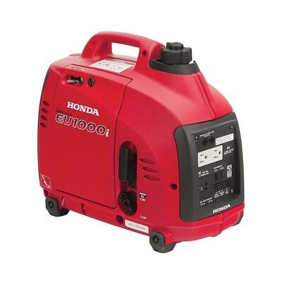 Honda 1000-Watt Quiet Gasoline Powered Portable Inverter Generator Eco-Thro