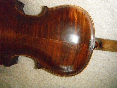 """Old, Antique, Full-size """"Stainer"""" Violin With Beautiful wood. Playable!"""