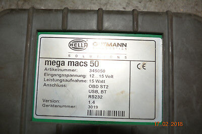 Gutmann mega macs 50 Diagnosetester