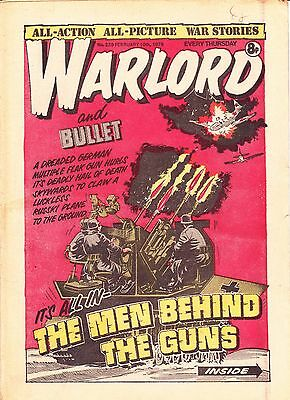 Warlord And Bullet Comic 229
