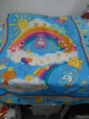 "NEW CARE BEAR PANEL  36"" x 45""  GREAT WALL HANGER  FREE SHIPPING"