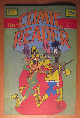 COMIC READER #143, 5/77, Don Martin cover, Fandom stories/art **NM**