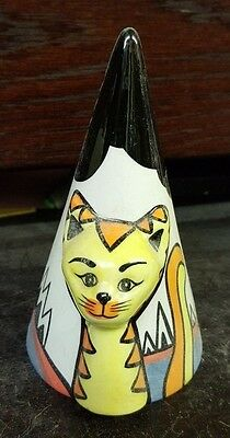 Lorna Bailey THE CAT SUGAR SHAKER Signed in Blue Limited Edition FREE P&P