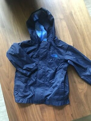 EUC The North Face Boys Raincoat Rain Jacket 3t