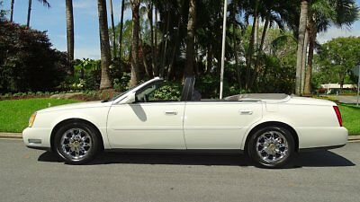 2003 Cadillac DeVille SEE FULL ITEM DESCRIPTION BELOW 2003 CADILLAC DEVILLE CONVERTIBLE BY COACH BUILDERS LIMITED 61,000 MILES NEW