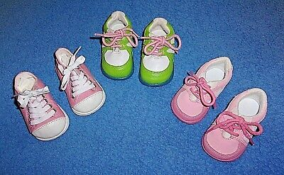 """3 Pairs Original Shoes Sneakers For My Twinn 23"""" Poseable Dolls"""