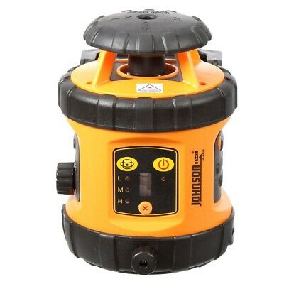 Johnson Rotary Laser Self Leveling Detector With Hard Shell Case
