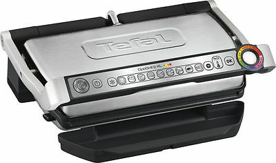 Tefal GC722 OptiGrill XL Smart Automatic Grill - Silver