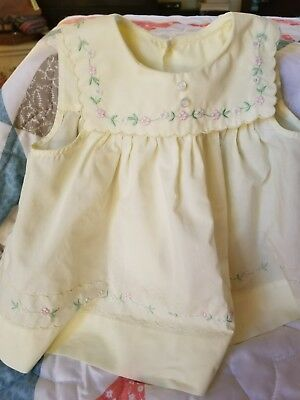 Beautiful vintage party dress for large doll or infant!!!