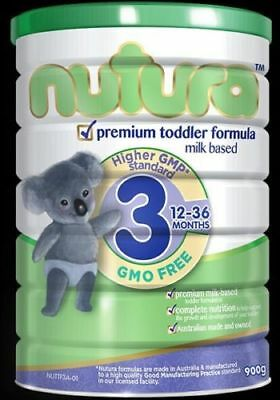 3 x Premium Nutura Baby Formula Stage 3 for Babies 12-36 Months
