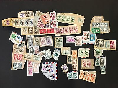 MIDDLE EAST Syria Syrie nice selection of stamps on piece