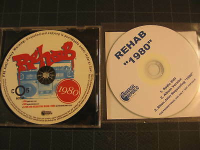 Rehab 1980 CD single Stock and promo issues Elton John calls in