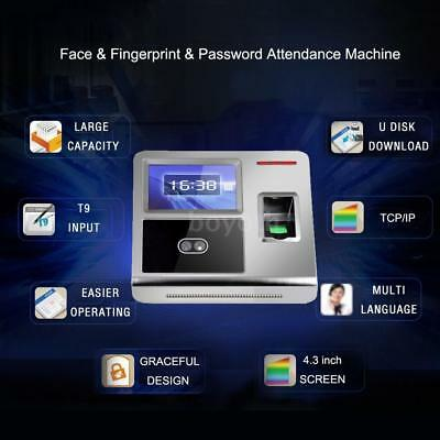Clocking in Security Device Face & Fingerprint Recognition Bio-metric System UK