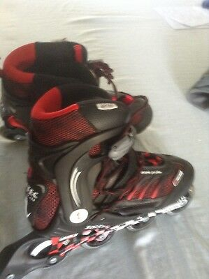 inline skates Blade X Softec Vision Inline skates. As New. US size 9. RPP $169