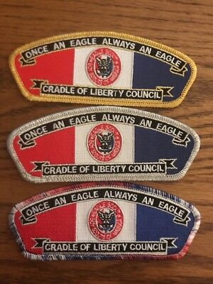 3 Cradle of Liberty Council Eagle Scout CSP's