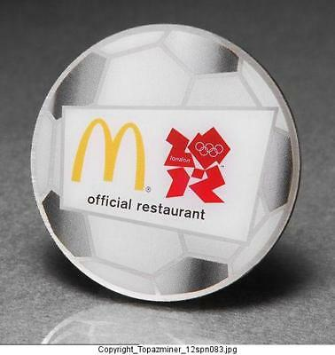 Olympic Memorabilia London 2012 Olympic Pins 2012 London England Sponsor Mcdonalds Official Restaurant Palace Gd