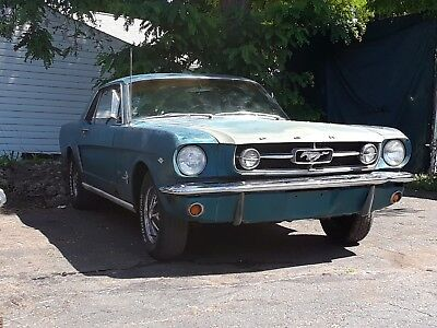 1964 Ford Mustang  1964 1/2 FACTORY 289 4V A/C