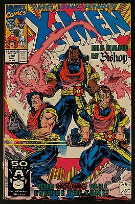 UNCANNY X-MEN 281 282 283 284 285 286 NM 1st Bishop Portacio Jim Lee Marvel 1991