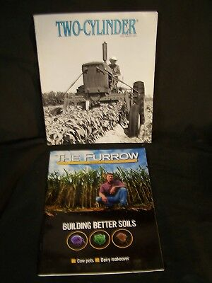 2 Magazines TWO CYLINDER 2007 & THE FURROW 2011 New John Deere Tractors & Soil
