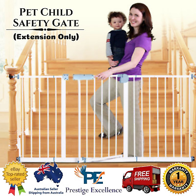 Baby Pet Child for Safety Gate Adjustable Security Barrier Kit  (Extension Only)