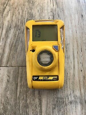 BW Technologies- BWC2-H Gas Monitor Hydrogen Sulfide (H2S) Used
