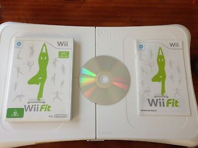 Wii Fit Balance Board and Wii Fit Game