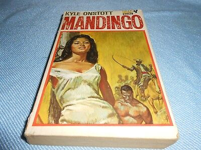 Vintage Pulp Fiction - MANDINGO - Kyle Onstott - Pan, 1970