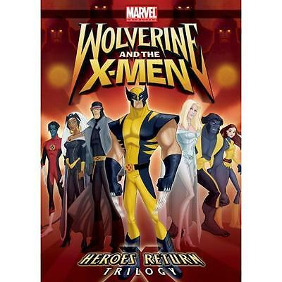 Wolverine and The X-Men: Heroes Return (DVD, 2009) NEW sealed in slipcover