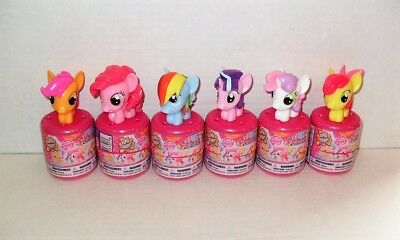 My Little Pony Series 5 Fashems Set Of (6) Opened In Capsules New