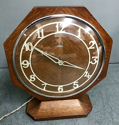 Antique Art Deco Mantel Clock - Stunning And Immaculate