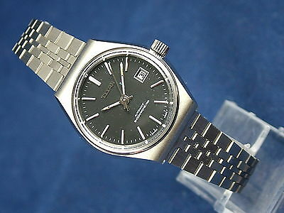 Vintage Titan Swiss Made Automatic Bracelet Watch Circa 1970s New Old Stock NOS
