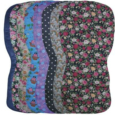 Reversible Seat Liners to fit Silver Cross Pursuit pushchairs - Navy Designs