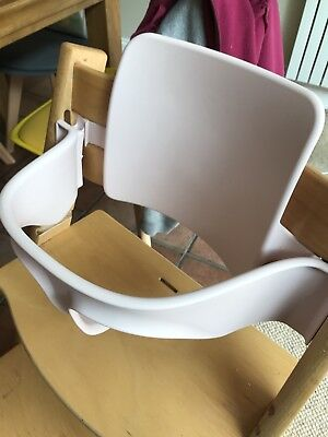 stokke tripp trapp high chair pink baby set