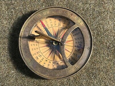 17th Century Dutch Compass with solar clock