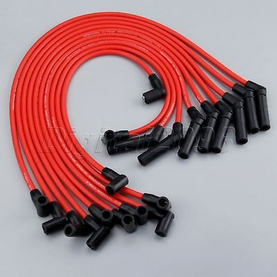 New Spark Plug Wires Ford Racing 9mm RED Ignition Wire Set 5.8L 5.0L 351W 302