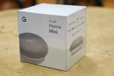 Google Home Mini Smart Assistant - Chalk Brand new *free express post shipping*