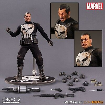 Punisher One:12 Collective Action-figur Mezco