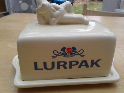 "Limited Edition Lurpak ""Douglas"" Butter Dish"