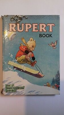 RARE Rupert annual 1956 vintage collectable Great condition The Rupert Book