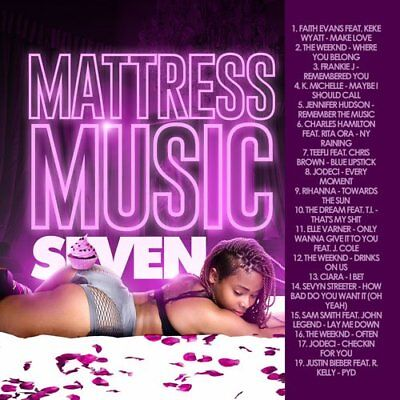Mattress Music 7 R&B Mixtape DJ Compilation Mix CD