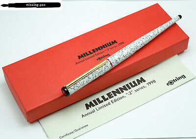 Rotring Art Pen Millennium Edition 1998 with bi-color nib 1.5 mm