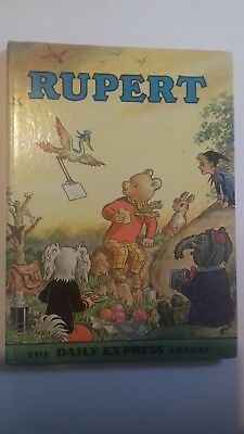 Rupert annual 1972 Excellent condition vintage collectable book unclipped