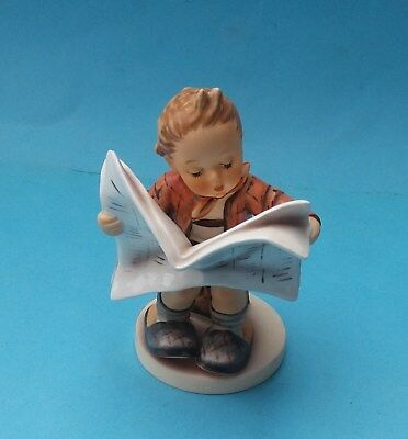 BOXED HUMMEL LATEST NEWS FIGURINE - No. HUM 184
