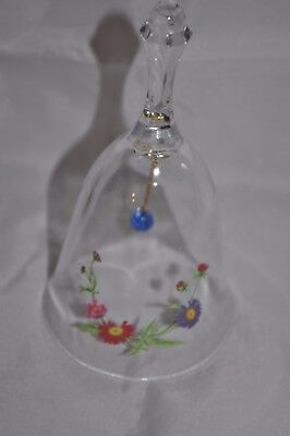 Avon 24% Lead Crystal Birthday Bell September