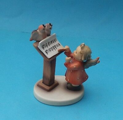 BOXED HUMMEL BIRD DUET FIGURINE - No. HUM 169