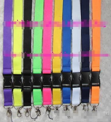 90 pcs Car logo neck strap lanyard Key Ring KeyChain cellphone strap for