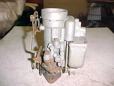 carter single barrel carburetor