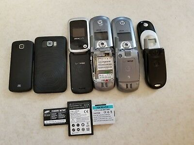 Old used cell phones without chargers