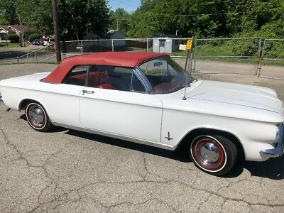 1964 Chevrolet Corvair Convertible 1964 Chevrolet Corvair Convertible 4 speed with New Top  No Reserve NR Ohio